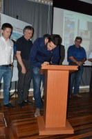 Assinatura do Protocolo Centro Cultural Sto. Antônio
