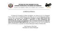 Audiência Pública LOA 2020 - 19/11/2019  -  9 h.