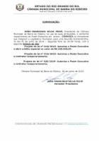 Convocação Sessão Extraordinária - 01.07.2019 - 19h