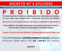 Decreto nº 3.671/2020