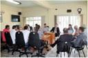 Dia 23 de Março, o Poder Legislativo e Poder Executivo, reuniram-se com Cittá e Dueto.