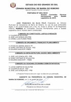 Portaria nº 002.19 - Comissões Técnicas Permanentes
