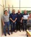 Visita da Câmara a Promotoria de Justiça da Comarca de Barra do Ribeiro