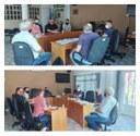 Reunião de Vereadores com Presidente e Conselheiro do FAPS.