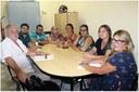 Reunião da Câmara com as Conselheiras Tutelares.