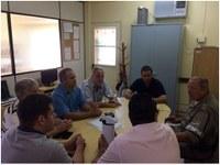 Reunião de Vereadores com Comandante da Brigada Militar.